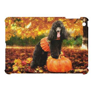 Fall Thanksgiving - Gidget - Poodle iPad Mini Case