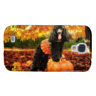 Fall Thanksgiving - Gidget - Poodle Samsung Galaxy S4 Cover