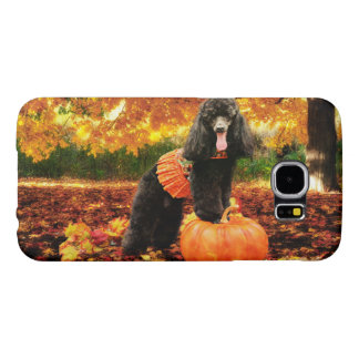 Fall Thanksgiving - Gidget - Poodle Samsung Galaxy S6 Cases