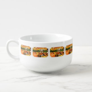 Fall Thanksgiving - Max - Yorkie Soup Mug