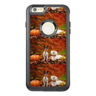 Fall Thanksgiving - Monty Fox Terrier & Milly Malt OtterBox iPhone 6/6s Plus Case