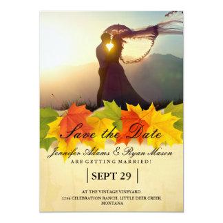 /fall theme 13 cm x 18 cm invitation card