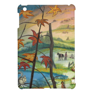 Fall time at the village iPad mini cover