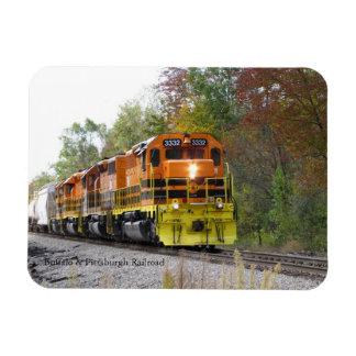 Fall Train Magnet