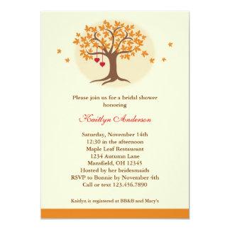 Fall Tree Bridal Shower Invitation