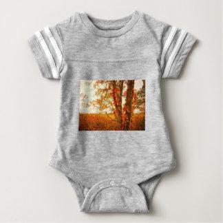 Fall Tree Great Meadows National Wildlife Refuge Baby Bodysuit