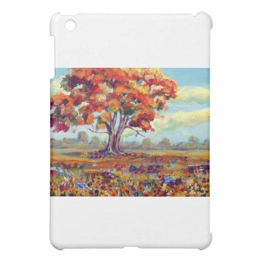 Fall tree cover for the iPad mini