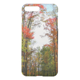 Fall Trees and Blue Sky Autumn Nature Photography iPhone 8 Plus/7 Plus Case