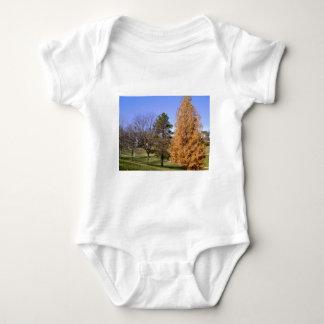 Fall Trees Baby Bodysuit