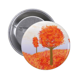 Fall Trees Button