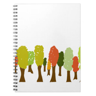 Fall trees notebook