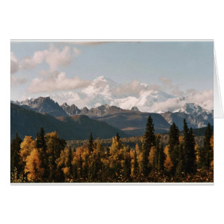 Fall View of Denali, Mt. McKinley Card