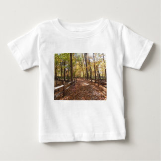 Fall walk in the park and changing colors baby T-Shirt