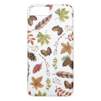 fall watercolor wreath iPhone 8 plus/7 plus case