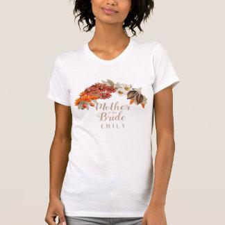 Fall Wedding Wreath Orange M of the Bride ID465 T-Shirt