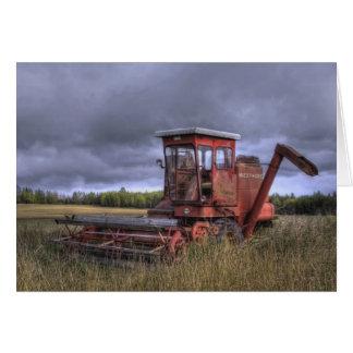 Fall Wheatfields Card