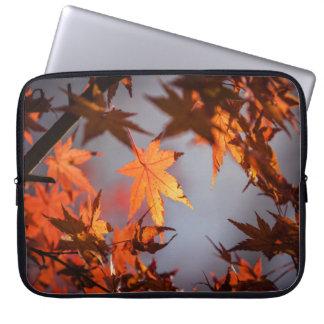 Fall Wonderland of Autumn Colour Laptop Sleeve