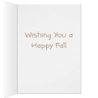Fall Y'all Greeting Card