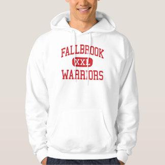 Fallbrook - Warriors - High - Fallbrook California Hoodie