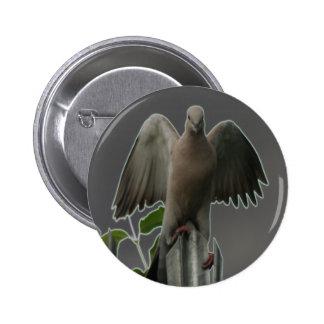 Fallen Angel Dove Button