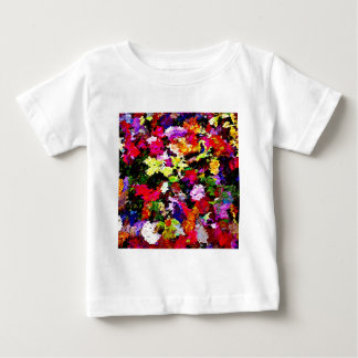 Fallen Autumn Leaves Abstract Baby T-Shirt