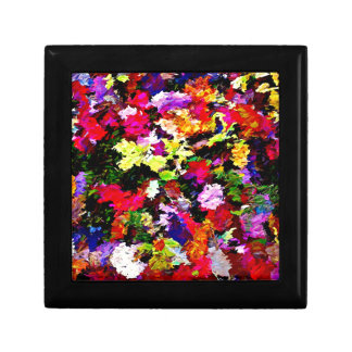 Fallen Autumn Leaves Abstract Gift Box