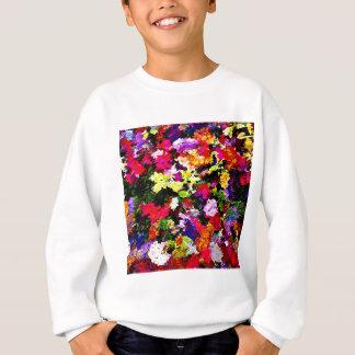 Fallen Autumn Leaves Abstract Sweatshirt