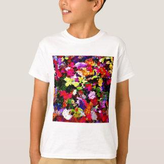 Fallen Autumn Leaves Abstract T-Shirt