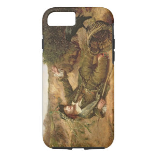 Fallen by the Wayside, 1886 (oil on canvas) iPhone 7 Case