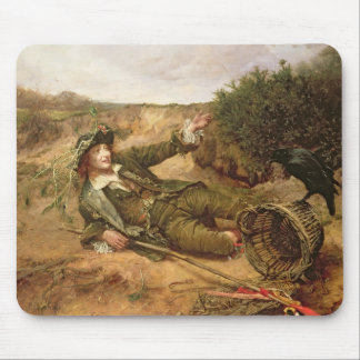Fallen by the Wayside, 1886 (oil on canvas) Mouse Pad