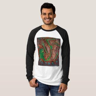 Fallen Funkster ~ Abstract Painting T-Shirt