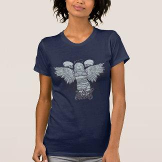 Fallen Icons Low cut t-Shirt Wings on back