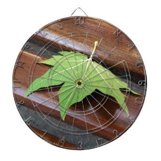 fallen leaf dartboard