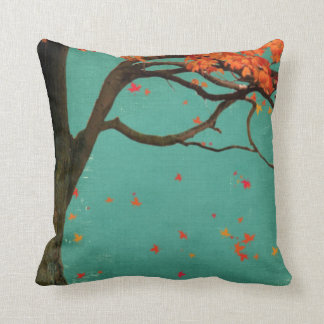 Fallen Leaves Decor Pillow