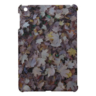 Fallen Maple Leaves iPad Mini Case