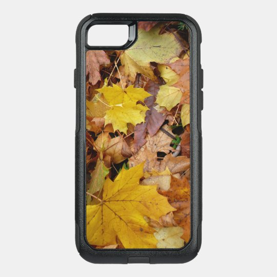 Fallen Maple Leaves Yellow Autumn Nature OtterBox Commuter iPhone 8/7 Case