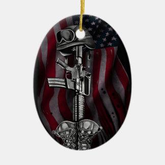 fallen soldier.jpg ceramic ornament