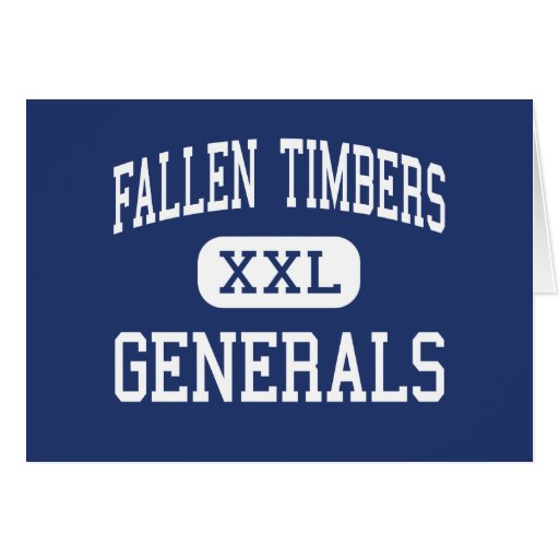 Fallen Timbers Generals Middle Whitehouse Greeting Cards