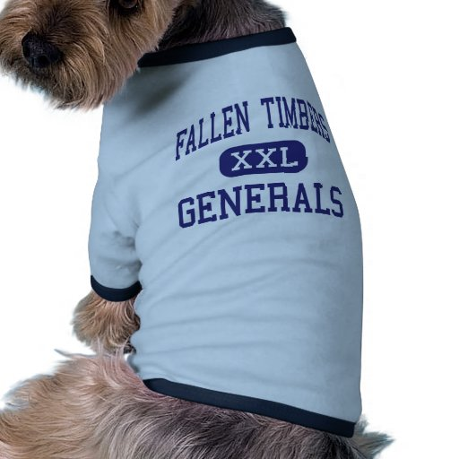 Fallen Timbers Generals Middle Whitehouse Dog T-shirt