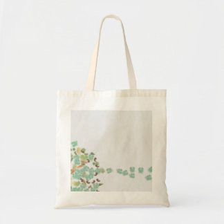 Fallen tree abstract tote bag