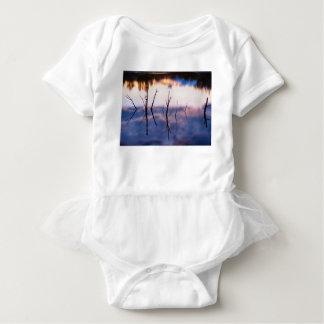 Fallen Twiggy Reflections Baby Bodysuit