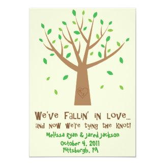 Fallin' In Love Save the Date Card