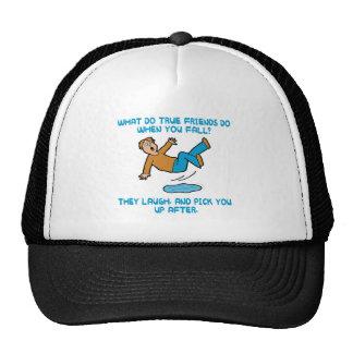 Falling and True Friends Hats