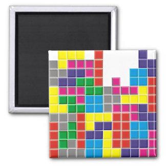 Falling blocks square magnet