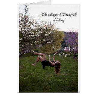 Falling Card