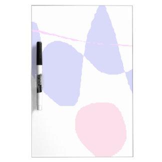 Falling Dry Erase Board