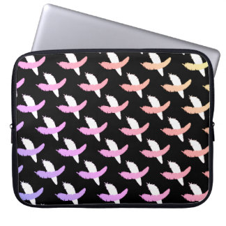 Falling Feathers Laptop Computer Sleeve