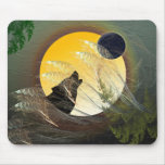 Falling Feathers Mouse Mats