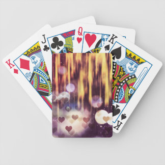 Falling hart bicycle playing cards