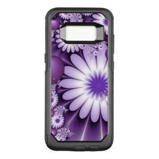 Falling in Love Abstract Flowers & Hearts Fractal OtterBox Commuter Samsung Galaxy S8 Case